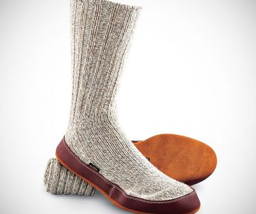 Acorn Slipper Scocks