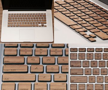 Apple MacBook Wood Keys