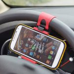 Car Steering Wheel Smartphone Holder