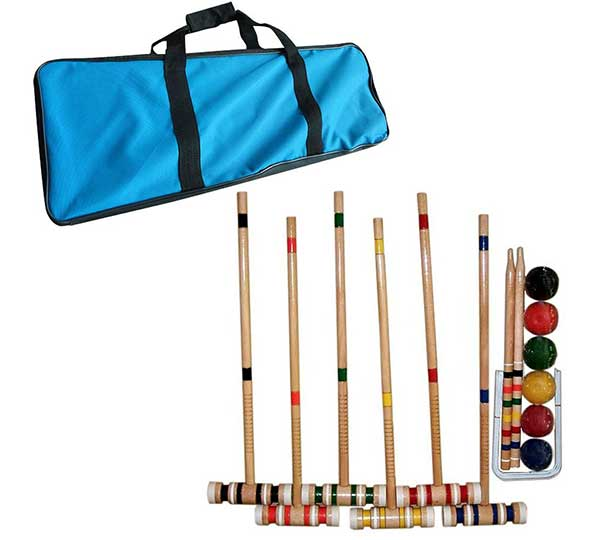Croquet Set with Carrying Case