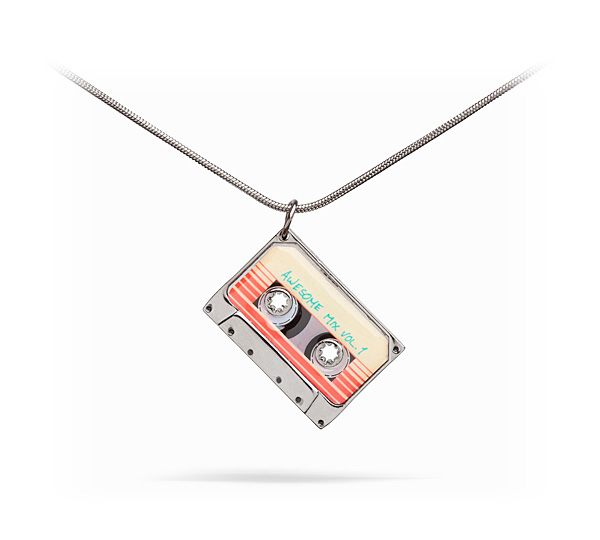 Guardians of the Galaxy Awesome Mix Pendant