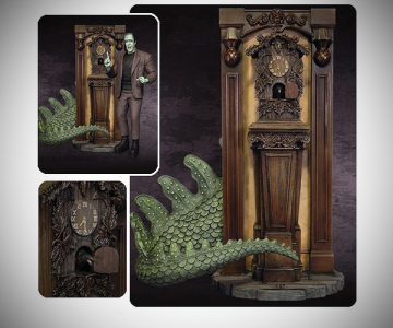 Munsters Nevermore Cuckoo Clock