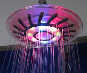 Rainbow Led Shower