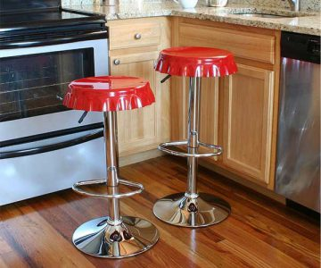 Soda Cap Bar Stools