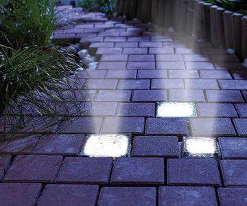 Solar Power Light Bricks