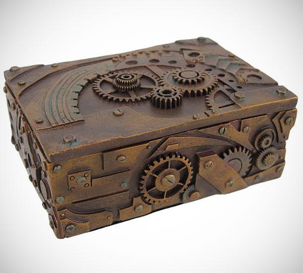 Steampunk Storage Box