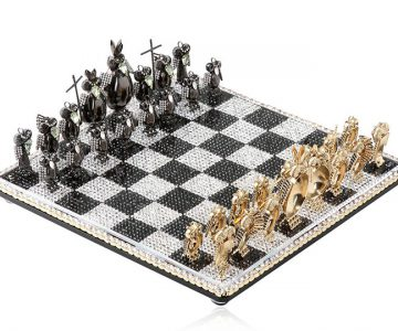 Jeweled Chess Set