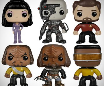Star Trek Vinyl Pop Figures TNG