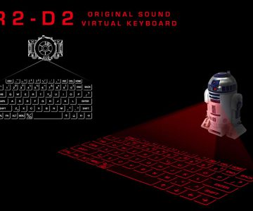 StarWars R2D2 Virtual Keyboard
