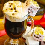 Edible 24K Gold Marshmallow Hot Chocolate Drink