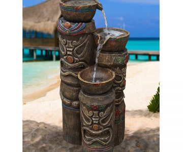 3 Tiki's Fountain