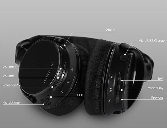 Ausdom M06 Wireless Bluetooth Headphones