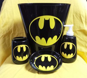 Batman Bathroom Accessory Set