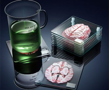 Cerebral Brain Coasters