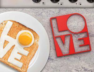 Fry Love You Egg Mold