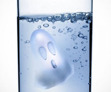 Ghostly Boo Ice Cubes Tray