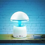 LED Magic Lamp with Bluetooth Speaker