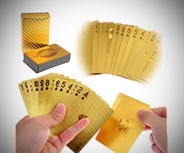 Luxury 24K Gold Playing Cards Deck