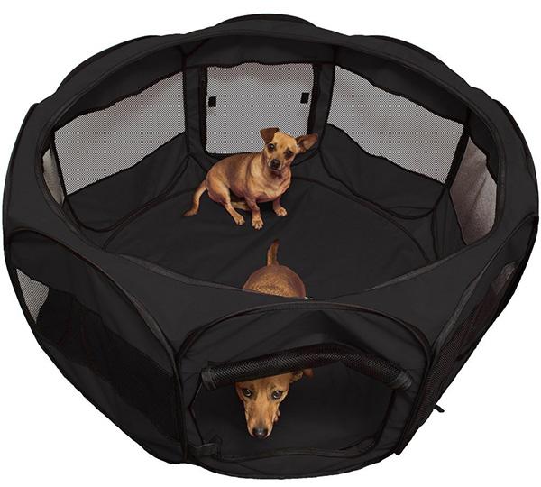 Portable Pet Playpen Kennel Crate