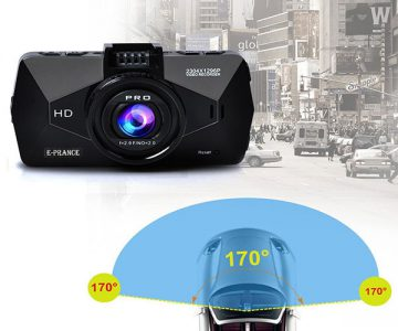 E-PRANCE Car Dash Cam with GPS Logger