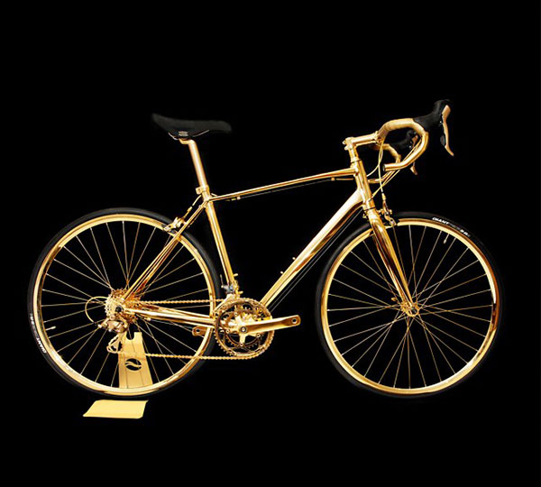 24k Gold Racing Bike