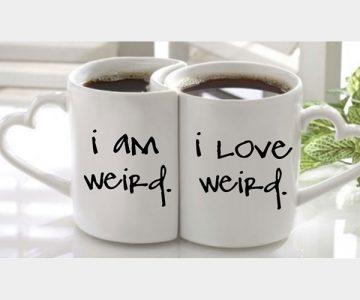 Love Weird Mugs