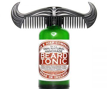 Tonic Beard Oil with Cowboy Comb Set