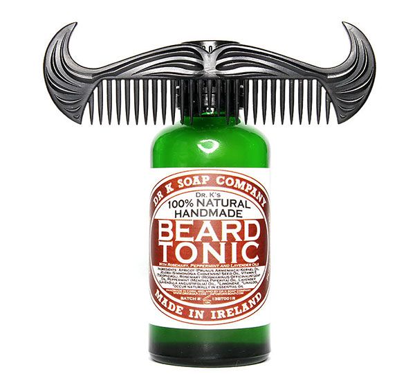 Tonic Beard Oil with Cowboy Comb Set