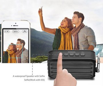 Arespark Portable Wireless Bluetooth Speaker