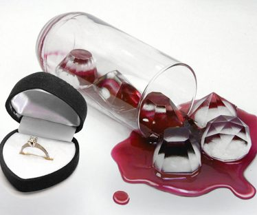 Jewels Diamond Ice Tray