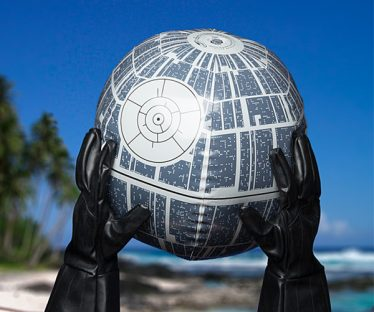 Light Up Star Wars Death Star Inflatable Ball