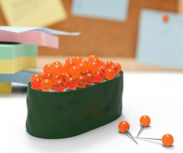 Maki Tacks Sushi Caviar Pushpins