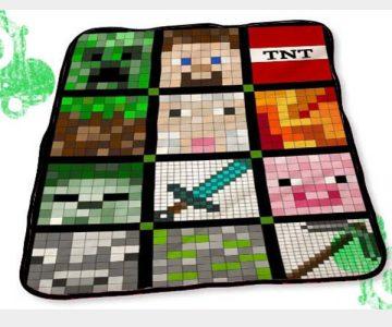Gamers Minecraft Blankets