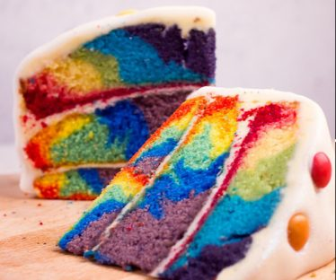 Rainbow Graffiti Cake Mix