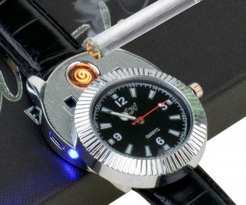 Cigarette Cigar Lighter Watch
