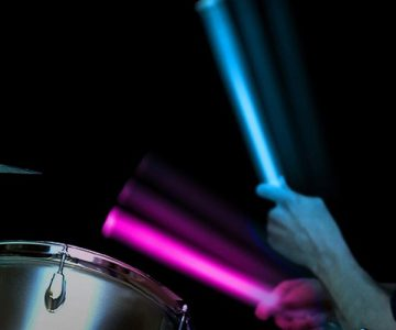 Color Changing LED Drumsticks