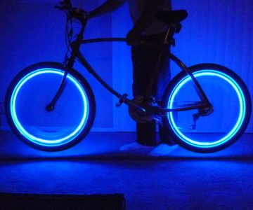 Glow Bicycle Wheel Neon Light Bulb