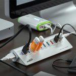 10 Ports USB Hub with 3 Charging Ports