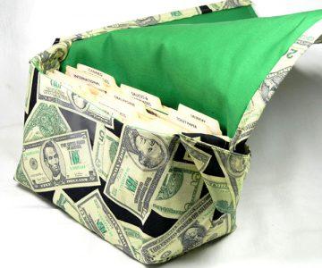 Coupon Organizer Dollar Bag