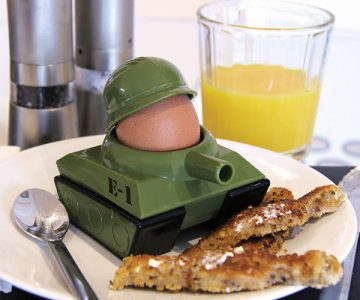 Egg Tank Cup and Toast Cutter