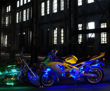 Motorcycle LED Light Kit