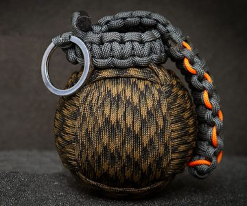 Paracord Grenade With Integrated Survival Kit