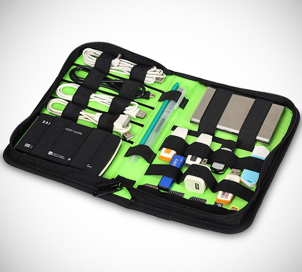 Portable Universal Gadgets Travel Organizer