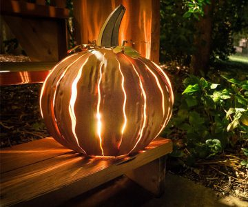 Squatty Pumpkin Luminary