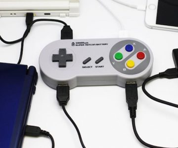 Super Nintendo Controller Battery