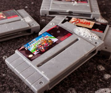 Super Nintendo Soap Cartridges