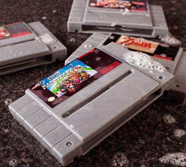 Super Nintendo Soap Cartridges