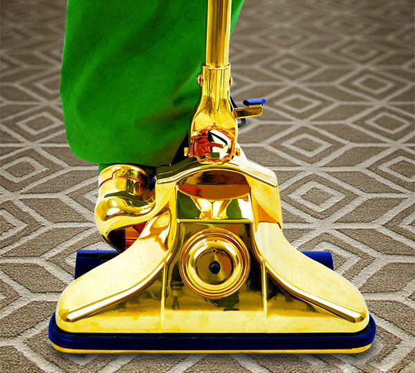 Worlds Most Expensive Gold Vacuum Cleaner