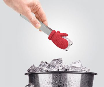 Cold Fingers Mitten Ice Tongs