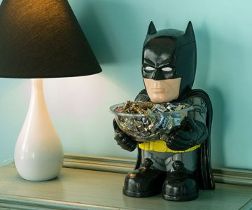DC Batman Candy Bowl and Holder